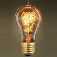 GF-E-719 Лампа декоративная Е27 60вт 11*6 (Ретро), лампочка