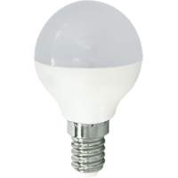 Лампа светодиод.globe G45 LED 8,0W 220V E14 4000К 77*45 шар(K4QV80ELC) Premium, лампочка