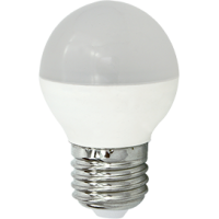 Лампа светодиод.globe G45 LED 8,0W 220V E27 2700К 77*45 шар(K7QW80ELC) Premium, лампочка