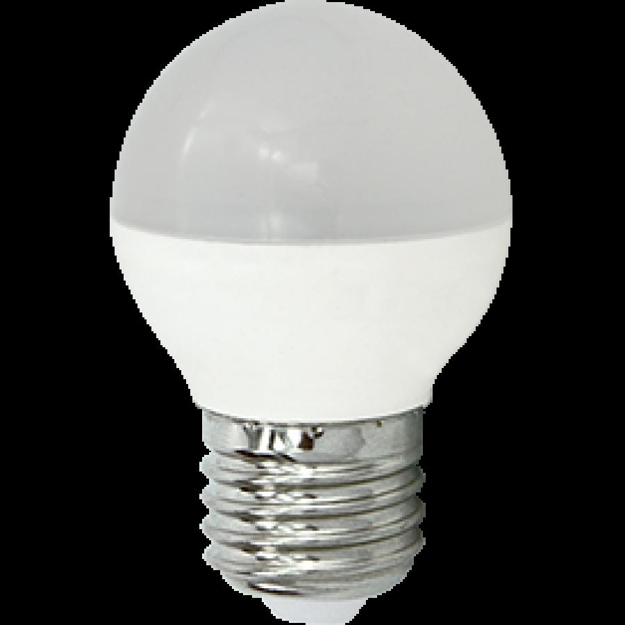 Лампа светодиод.globe G45 LED 8,0W 220V E27 4000К 77*45 шар(K7QV80ELC) Premium, лампочка