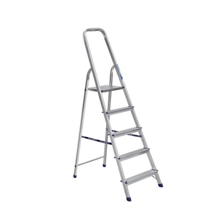 Лестница-стремянка АМ705 5 ступеней (1,03м) Алюмет