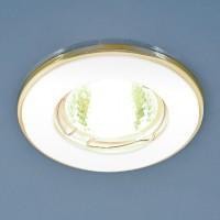 7002 (WH/GD) белый/золото MR16 Точечный светильник