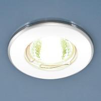 7002 (WH/SL) белый/серебро MR16 Точечный светильник