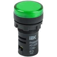 Лампа AD22DS(LED)матрица d22мм зеленый 24В AC/DC ИЭК