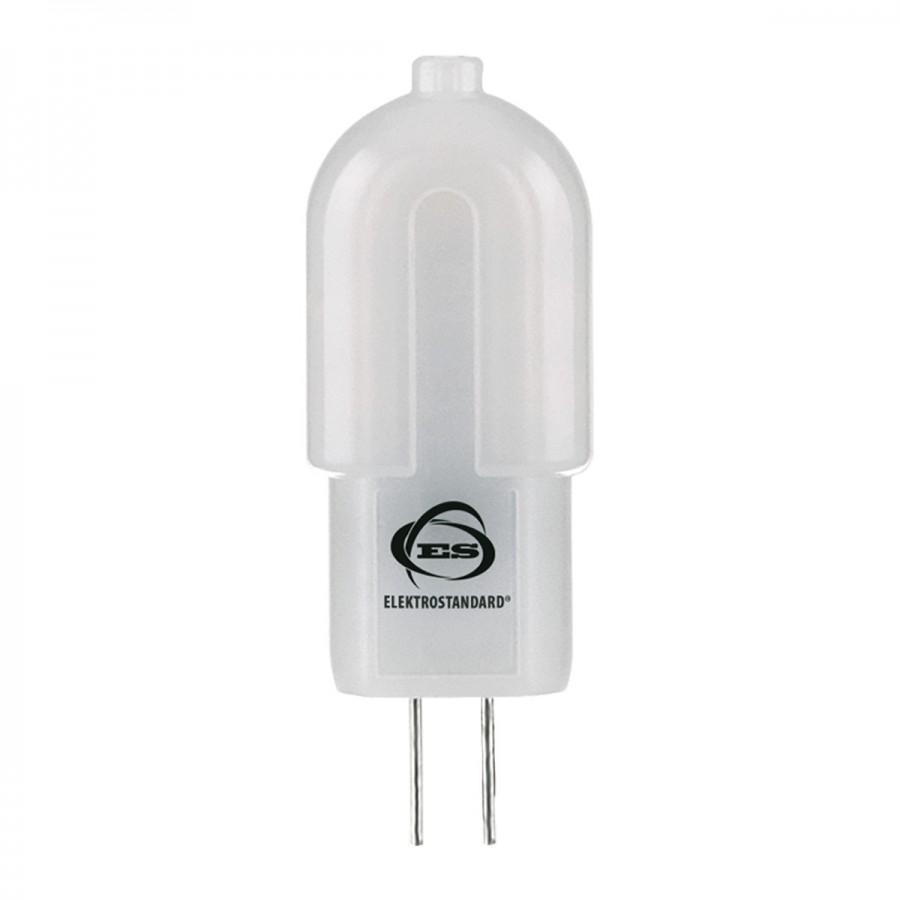 Лампа светодиод. LED 3W G4 SMD 220v 3300K  AC 360гр, лампочка