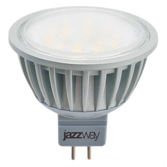 Лампа светодиод.PLED-DIM -JCDR  8W 230V GU5.3 4000К 600lm  Jazzway, лампочка