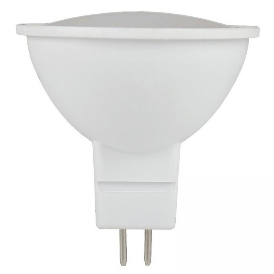 Лампа светодиод.MR16  ECO 5W GU5.3 230v 3000K мат.стекло 51*50  IEK, лампочка