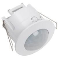 Датчик движ.ДД201 белый 1200W угол обзора 360гр.дальность 6м, встр.IP20 ИЭК