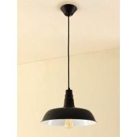 CL450205 Эдисон Черный (Бел.рефл) Св-к подвесной