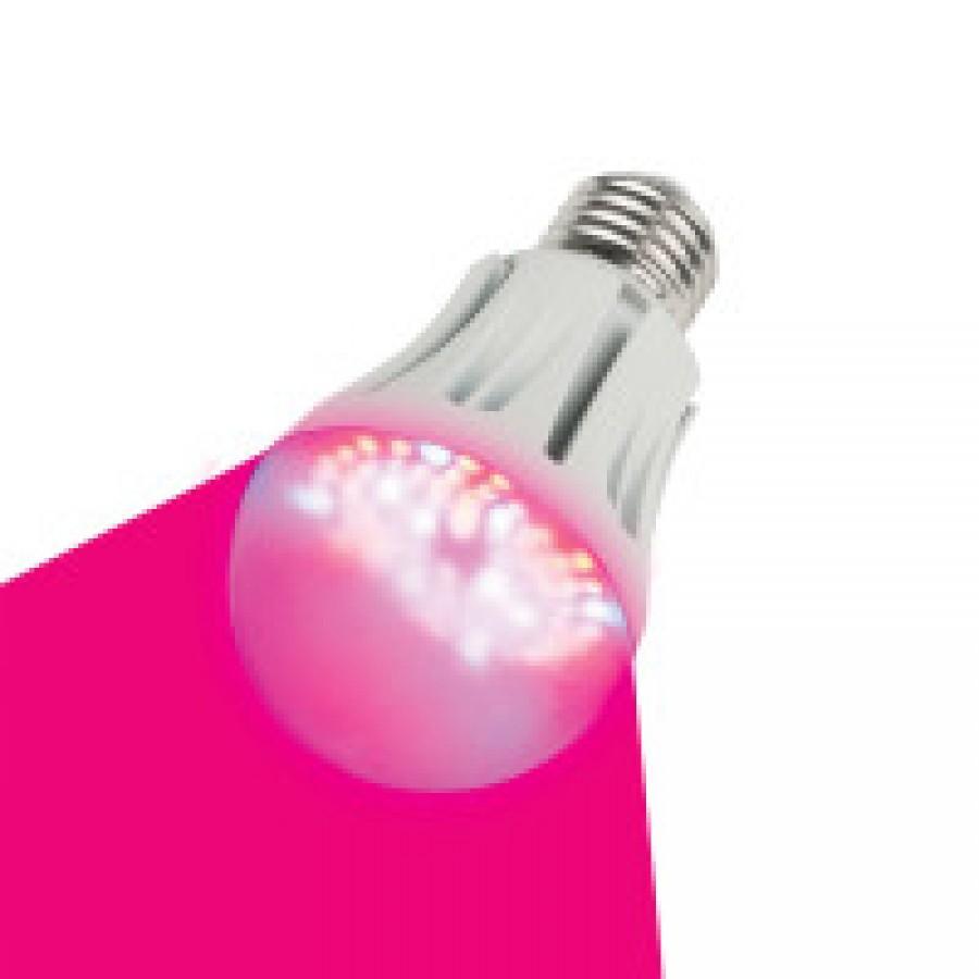 Лампа-Фито LED A60 9W/SP/E27/CL  для растений Uniel ALM01WH