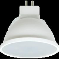 Лампа светодиод.MR16 LED 8W GU5.3 220v 2800K мат.стекло 48*50 (M2UW80ELC) Premium, лампочка