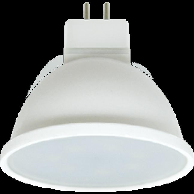 Лампа светодиод.MR16 LED 8W GU5.3 220v 4200K мат.стекло 48*50 (M2UV80ELC) Premium, лампочка