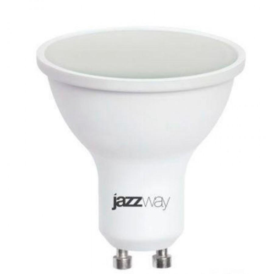 Лампа светодиод.PLED-GU10 9W 230V 5000К 720lm Jazzway, лампочка