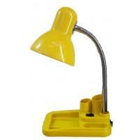 Наст.свет-к UT720 желт.хром на подставке-пенал Е27 Уютель