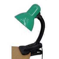 Наст.свет-к UT123C зелен. на прищепке Е27 Уютель