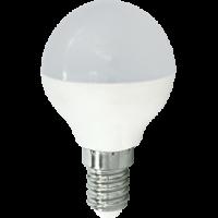 Лампа светодиод.globe G45 LED 8,0W 220V E14 2700К 77*45 шар(K4QW80ELC) Premium, лампочка