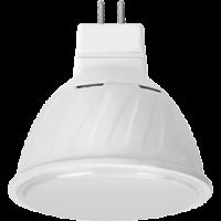 Лампа светодиод.MR16 LED 10W GU5.3 220v 2800K мат.стекло 51*50 (M2UW10ELC) Premium, лампочка