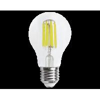 Лампа светодиод.classic А60 LED 8W 220V E27 3000К филамент (Премиум), лампочка