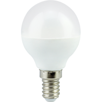 Лампа светодиод.globe G45 LED 7,0W 220V E14 2700К 82*45 шар(K4GW70ELC), лампочка