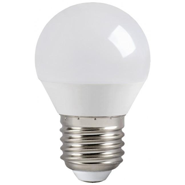 Лампа светодиод.globe G45 LED 7W 230V E27 4000К шар IEK, лампочка