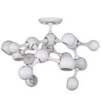 1740-9U, потолочный светильник, D840xH500, 9xG9/40W