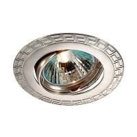 369618 NT12 272 никель Встраиваемый ПВ светильник IP20 GX5.3 50W 12V COIL