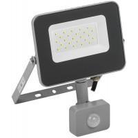 Прожектор СДО07-20Д(детектор)светодиодный серый IP44 ИЭК