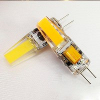Лампа светодиод. LED 3W G4 12v 4200K  210lm (10*32), лампочка