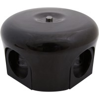 Распределительная коробка 78мм, керамика, цвет коричневый Лизетта B1-521-02 (Бирони)