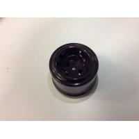 Розетка с з/к, керамика, коричневый Лизетта B1-101-02 (Бирони)