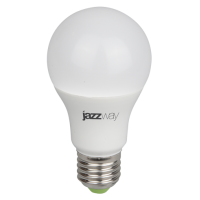 Лампа-Фито LED PPG A60 9W E27 IP20 для растений Jazzway