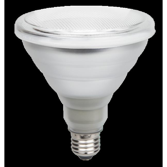Лампа-Фито LED PPG PAR38 15W E27 IP54 для растений Jazzway, лампочка