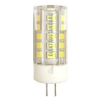 Лампа светодиод. LED 5W G4 220v 3300K 47*15, лампочка