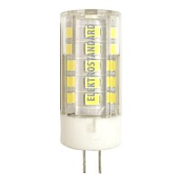 Лампа светодиод. LED 5W G4 220v 4200K 47*15, лампочка