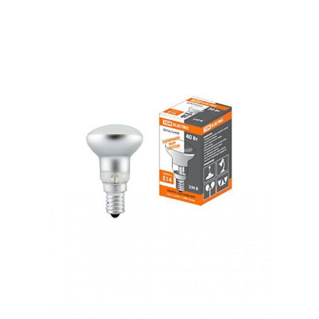 Эл.лампа R39-40 Вт-230 В-Е14 зеркальная TDM, лампочка