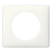 066631 Celiane Рамка 1п. белый глянец