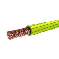 Провод ПуГВнг(A)-LS 4 желто-зеленый
