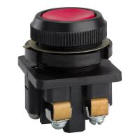 Кнопка КЕ-011 красная с толкателем 1з+1р 10А d30мм(Uперемен.до 660В,Uпостоян.до 440В)