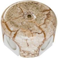 Распределительная коробка 78мм, керамика, цвет мрамор Лизетта B1-521-09 (Бирони)