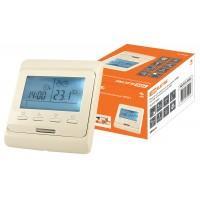 Термостат для теплых полов электрон.ТТПЭ-1 16А 250В с датчиком 3м сл. костьTDM