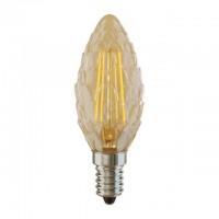 Лампа светодиод.candle LED 4W 220V E14 2800К свеча-шишка(VG10-P3E14cold4W-F), лампочка