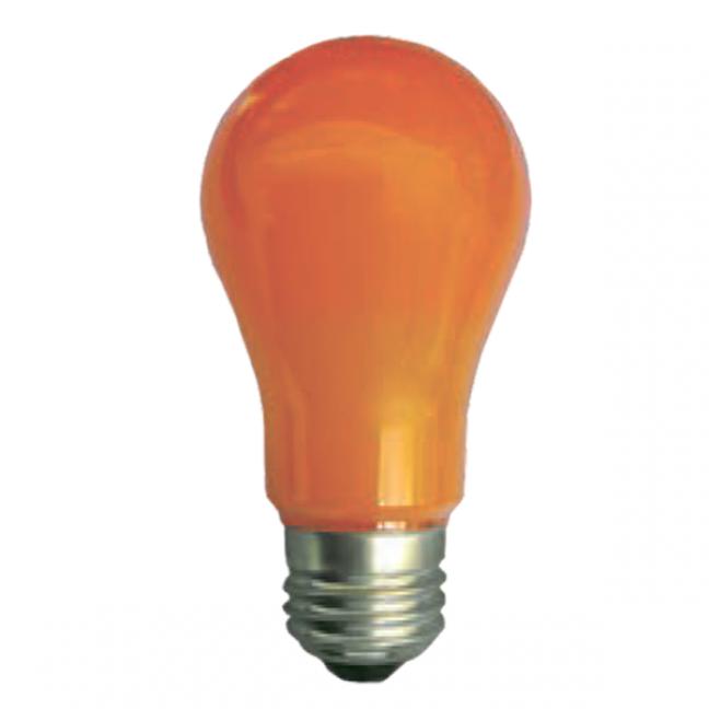 Лампа светодиод.classic А55 LED 8W 220V E27 оранж 108*55 (K7CY80ELY), лампочка