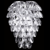 CHARME AP2+2 LED CHROME/TRANSPARENT CRYSTAL LUX) Бра