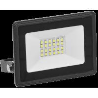 Прожектор СДО06-30 светодиодный черный IP65 6500K ИЭК