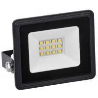 Прожектор СДО06-10 светодиодный черный 6500К IP65 ИЭК