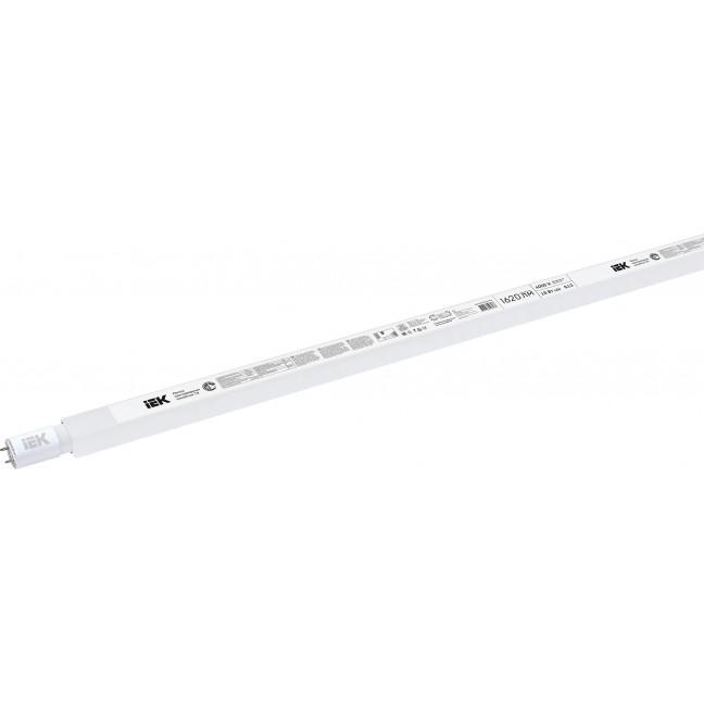 Лампа светодиод.T8 LED 18W G13 220v 4000K 1198*25 матов.(1620Lm) IEK, лампочка