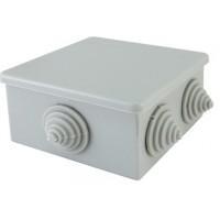 Коробка распаячная ОП 80*80*40, IP44, 6 вх. TDM