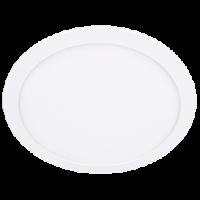 Светильник светодиод.Downl.24W 6500К(1800Im)бел.кругл.с драйвером(300*20) IP20 Экола(DRRD24ELC)