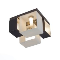 SL536.542.04 Люстра потолочная ST-Luce Черный/Белый G9 4*40W