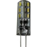 Лампа светодиод. LED 3W G4 12v 4000K  200lm (12*37.5), лампочка